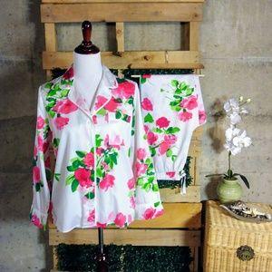 Kate Spade Floral Pajama Set